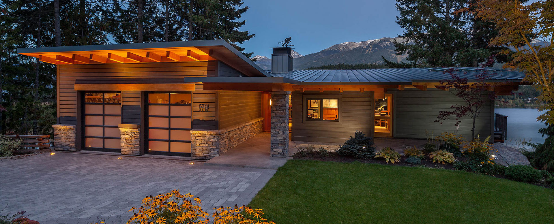 Panoramic Whistler Custom Homes Remodels TM